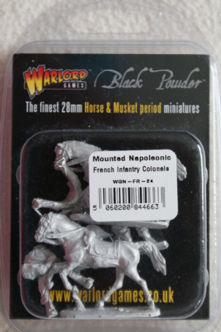 Warlord Games 28mm WGN-FR-24 Napoleonic French Mounted Colonels